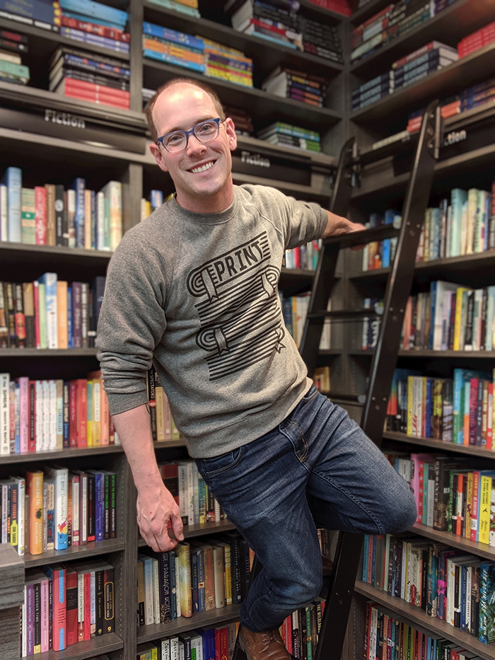 Josh Christie of Print: A Bookstore